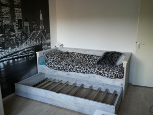 bed voor de fam ten napel